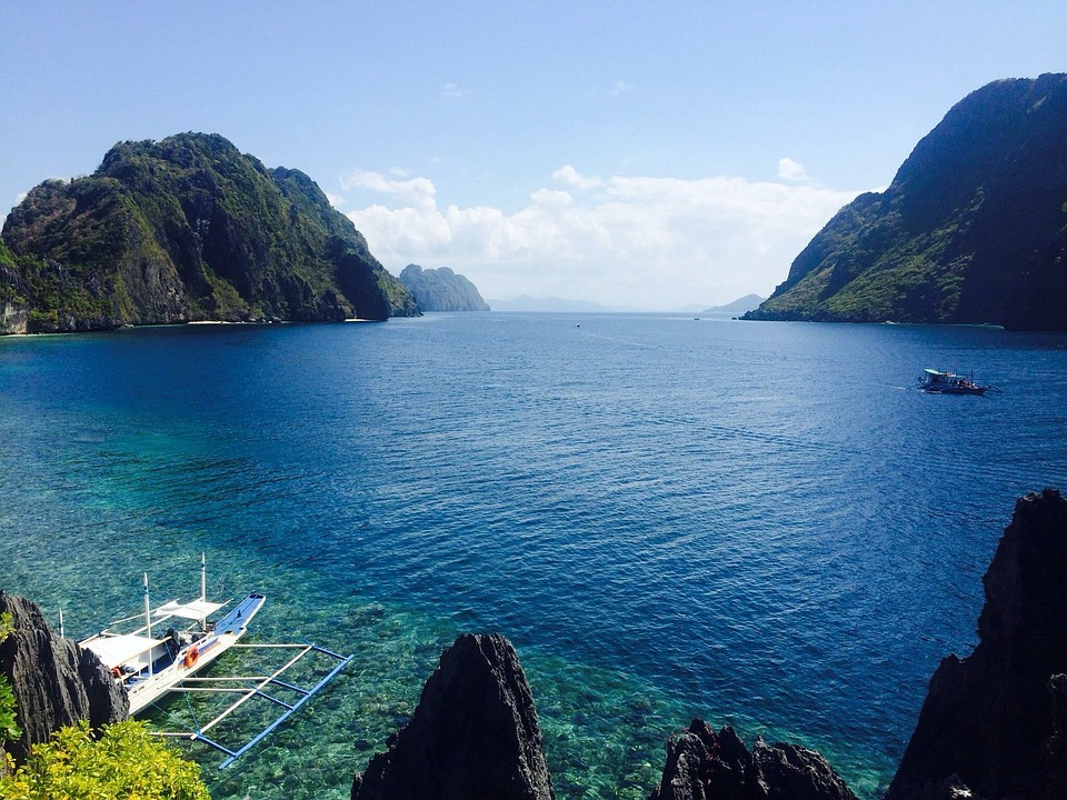Philippines, Océan, Été, Voyage, Mer, Plage, Tropicaux