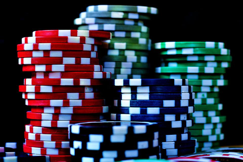 Poker Chips, Poker, Chips, Casino, Play, Poker Face