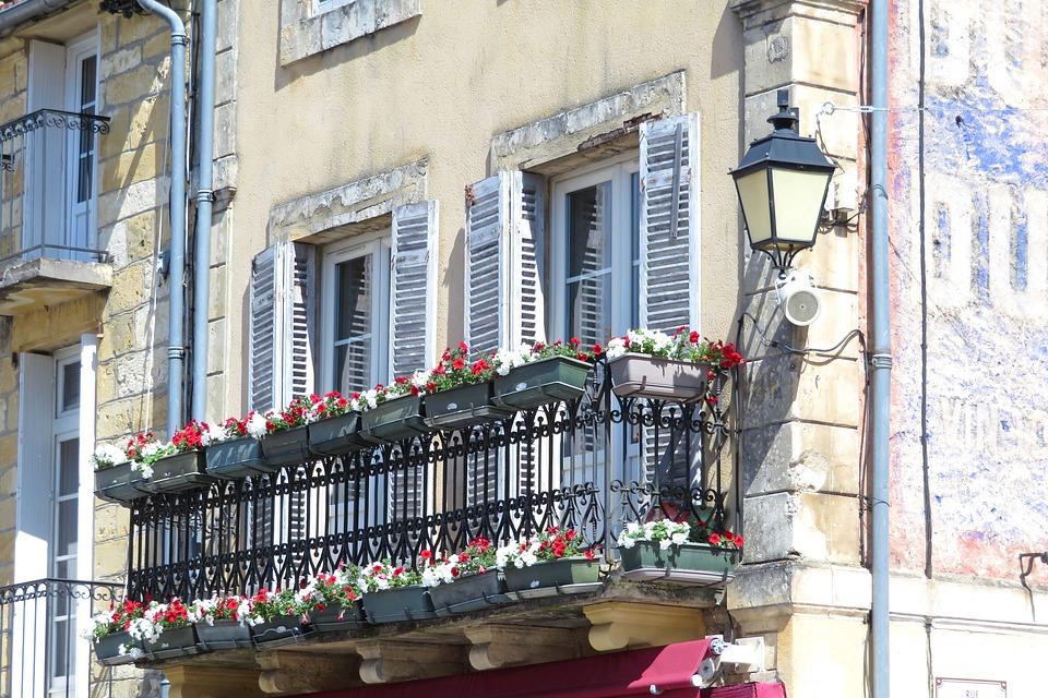 Balkon Fenster Fenster Gestalten Gardinen Fur So