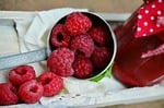 raspberries, berries, fruits