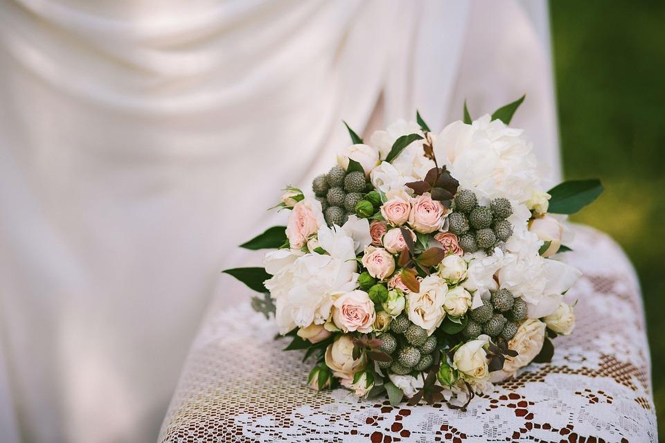 Popolare Foto gratis: Bouquet Da Sposa, Mazzo Di Fiori - Immagine gratis su  AX53