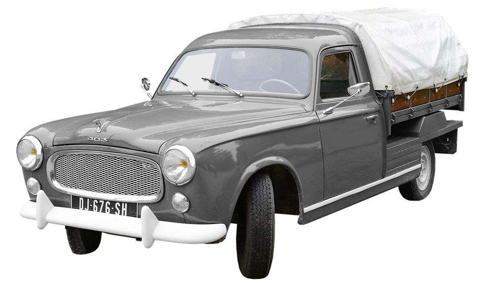 Top Free illustration: Peugeot, 403 Pick-Up, France - Free Image on  AK41