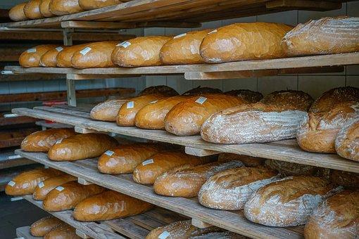 Bread, A Loaf Of Bread, Bakery, Fresh