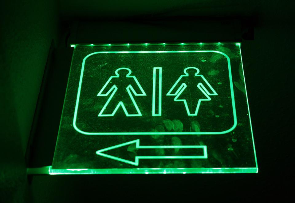 Bathroom Neon Signs free photo: men, women, bathroom, sign, toilet - free image on