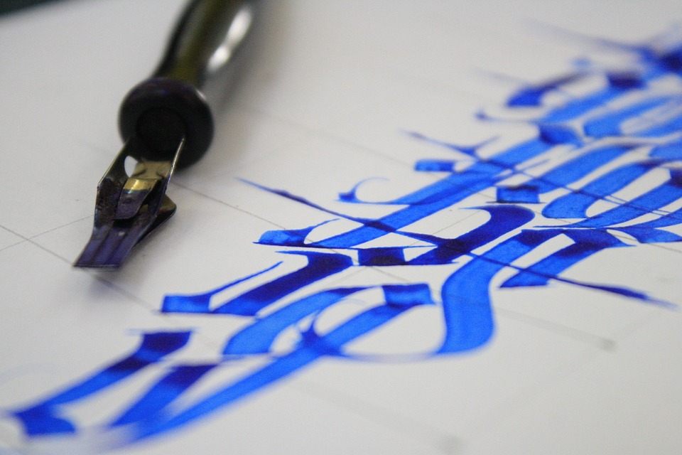Best calligraphy and handwriting images hand