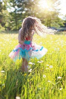 Danse, Petite Fille, Twirling