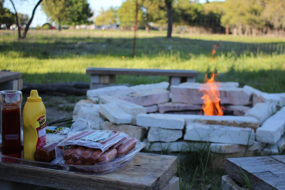 Camp Fire, Fire Pit, Camp, Fire, Flame, Wood, Heat, Hot