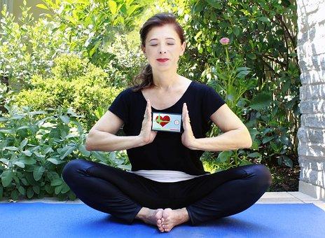 Yoga, App, Iphone, Mobile Phone