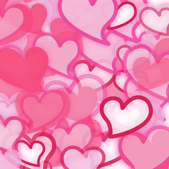 Free illustration: Hearts, Wallpaper, Pink, Valentine - Free Image ...