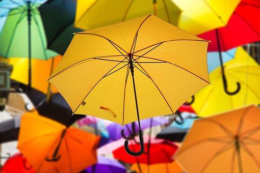 Warum dieser Blog? - Regenschirm, Farbe, Atmosphäre, Stimmung