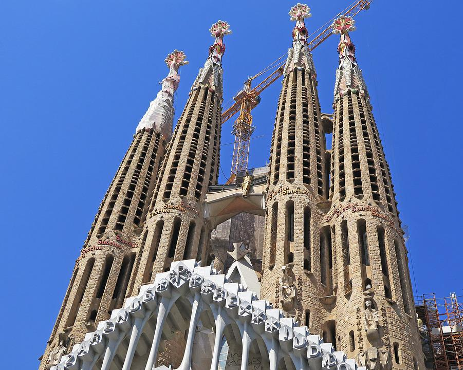 Barcelona, Catedral, Iglesia, Lugares De Interés