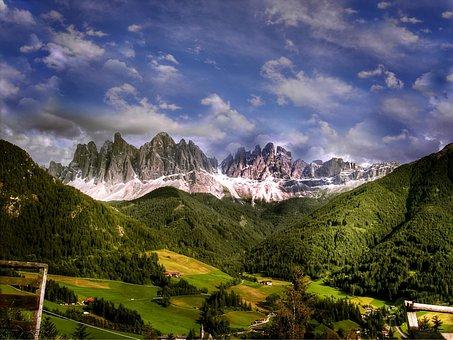 Dolomiten, Berge, Italien, Südtirol