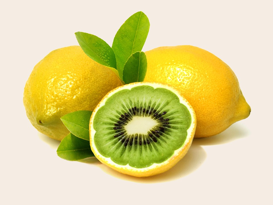 Jeruk Nipis Kiwi Buah Lemon Foto Gratis Di Pixabay