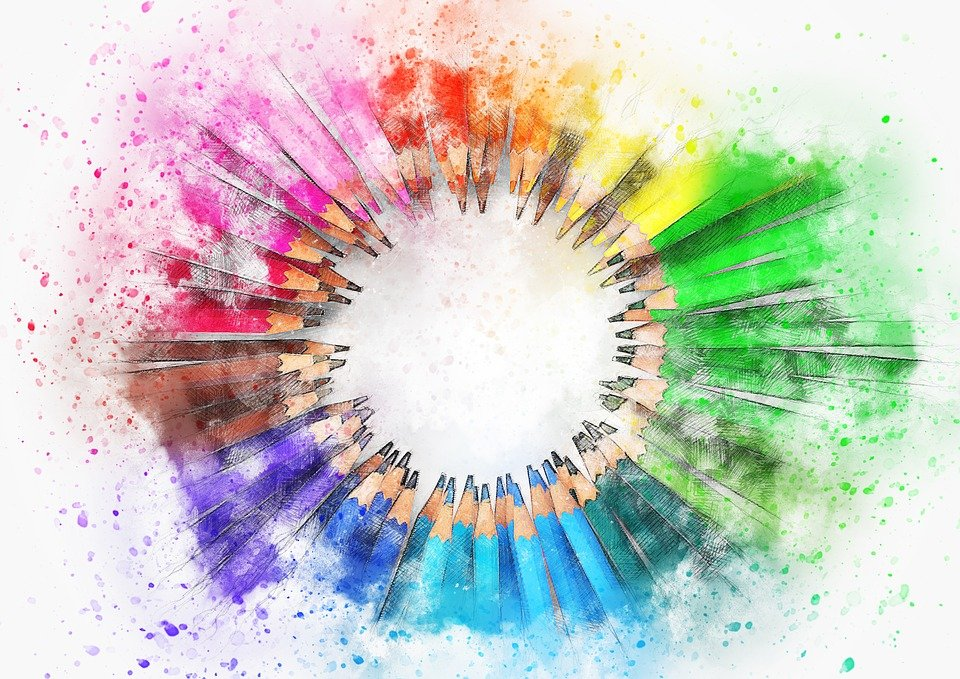 pencil color art free image on pixabay