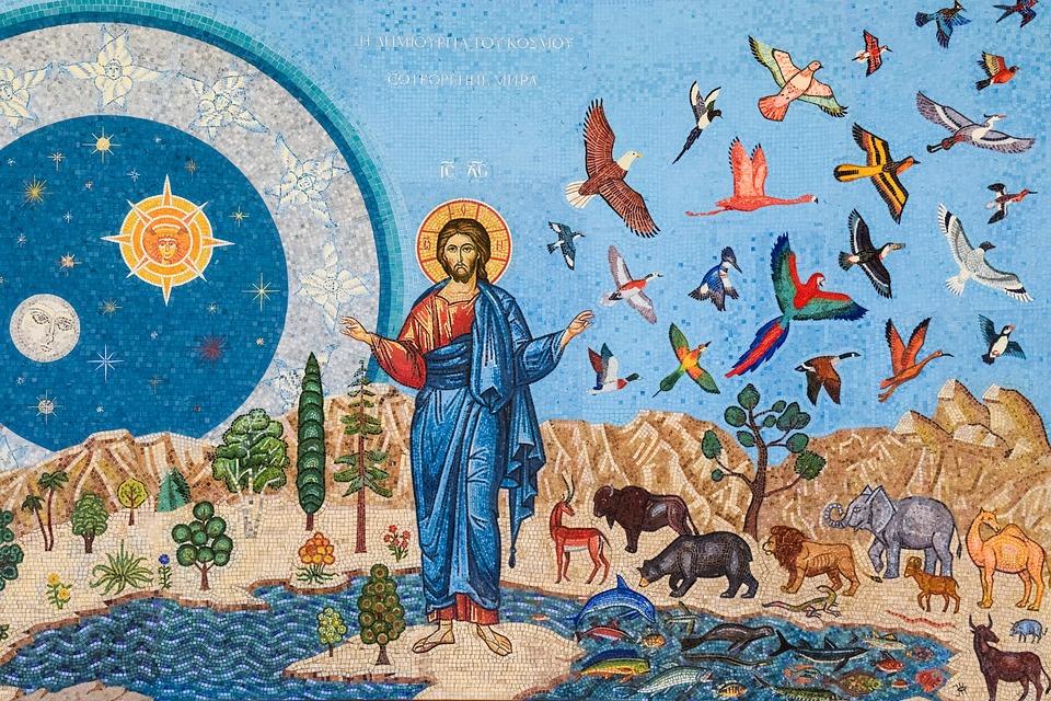 Genesis Mosaic Iconography Russian - Free photo on Pixabay