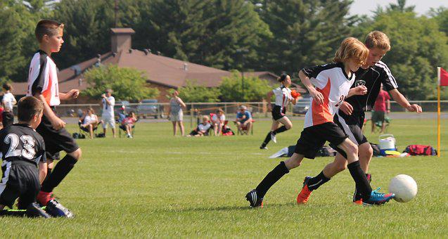 Youth, Soccer, Game, Football, Young