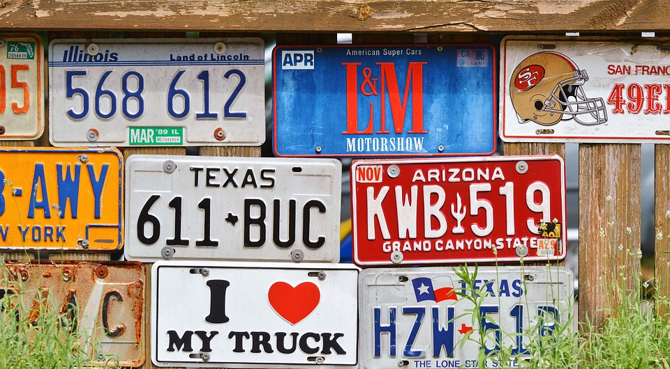 License Plate Car Shield American · Free photo on Pixabay