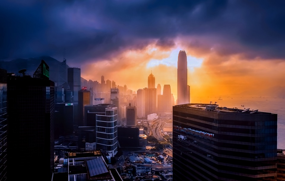 Hong Kong, China, City, Urban, Skyline, Buildings