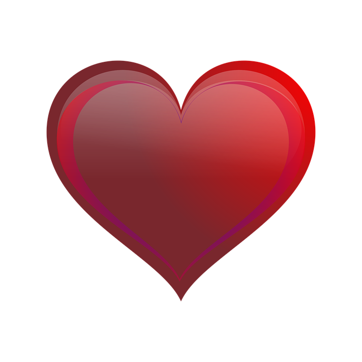 heart icon symbol free vector graphic on pixabay