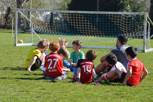 Children, Football, Attack, Defense