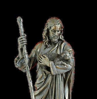 Isolerat, Schäfer, Tro, Gud, Jesus