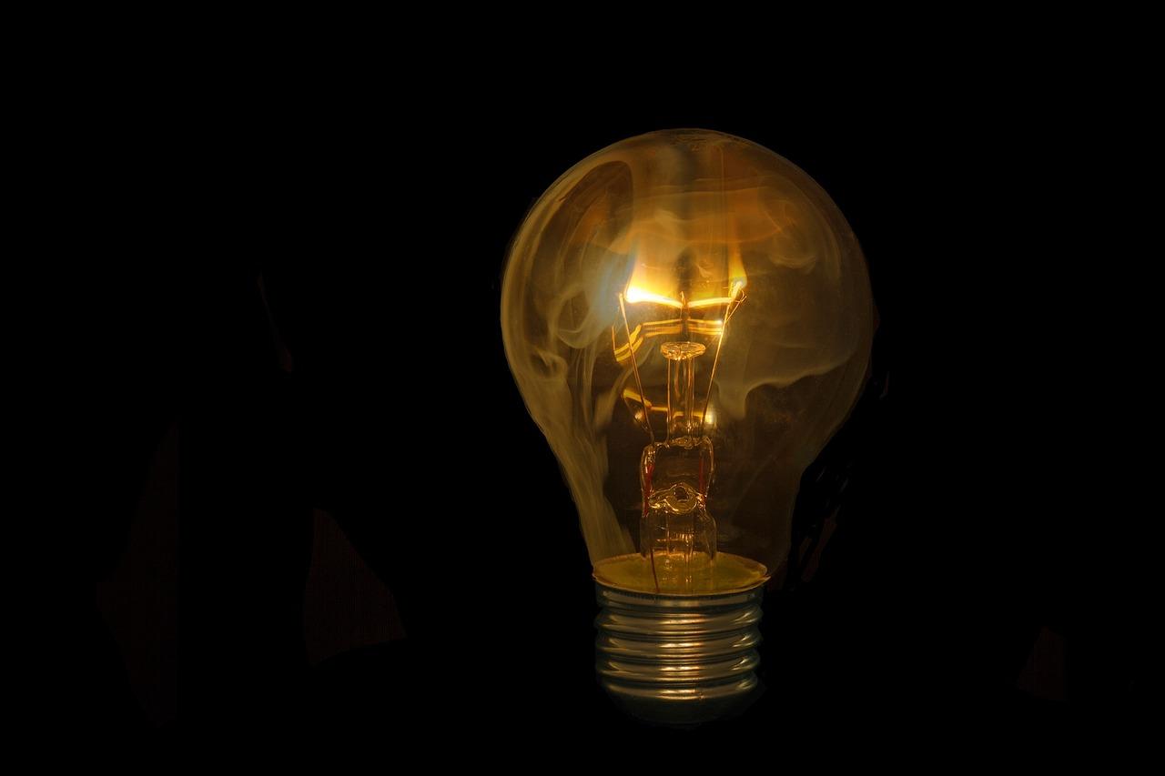 Картинка не горящей лампы