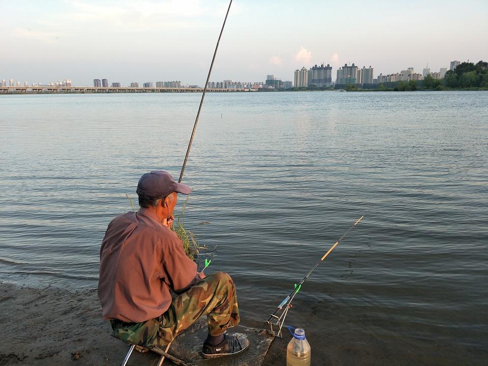 Mensen, De Oude Man, Vissen