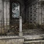 mausoleum, morbid, cemetery