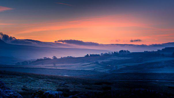 Yorkshire Dales, Pen-Y-Ghent, Sunrise