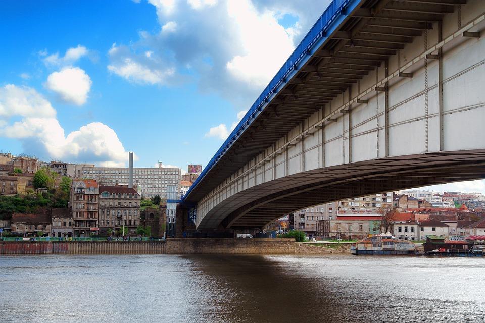 Most, Belgrad, Serbia, Beograd, Architektura, Podróży