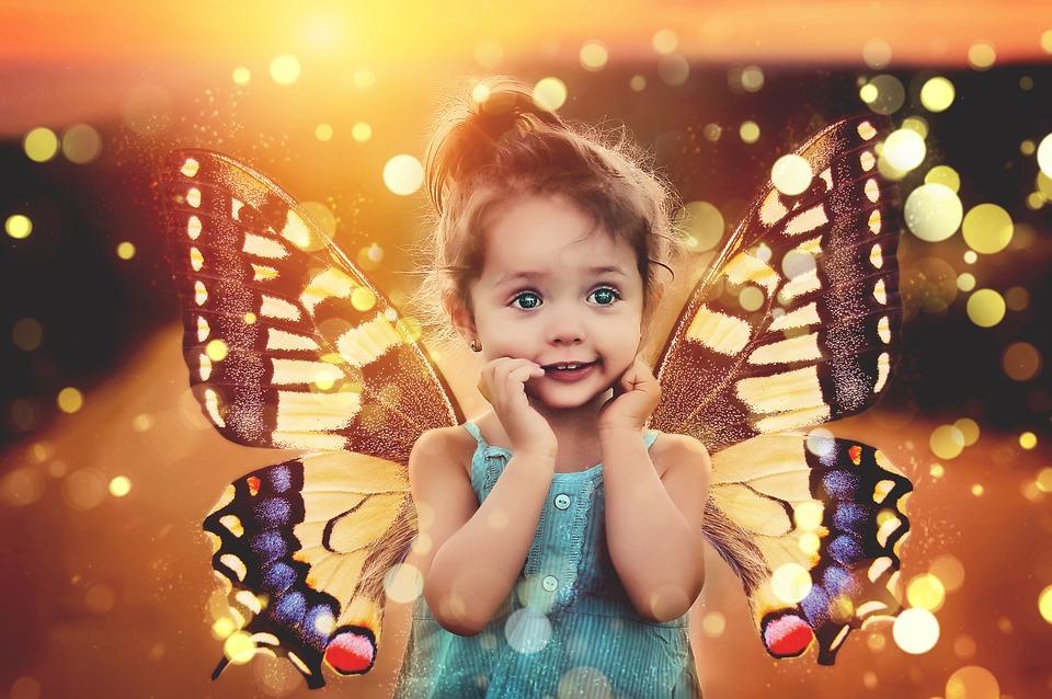 Ребенка, Плата, Магия, Бабочка, Крыло, Крылья Бабочки