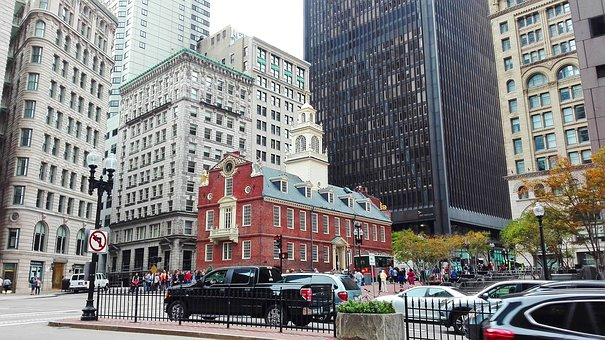 Boston, City, Urban, Urban Landscape
