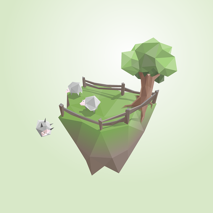 Island Sheep Low Poly Free Vector Graphic On Pixabay