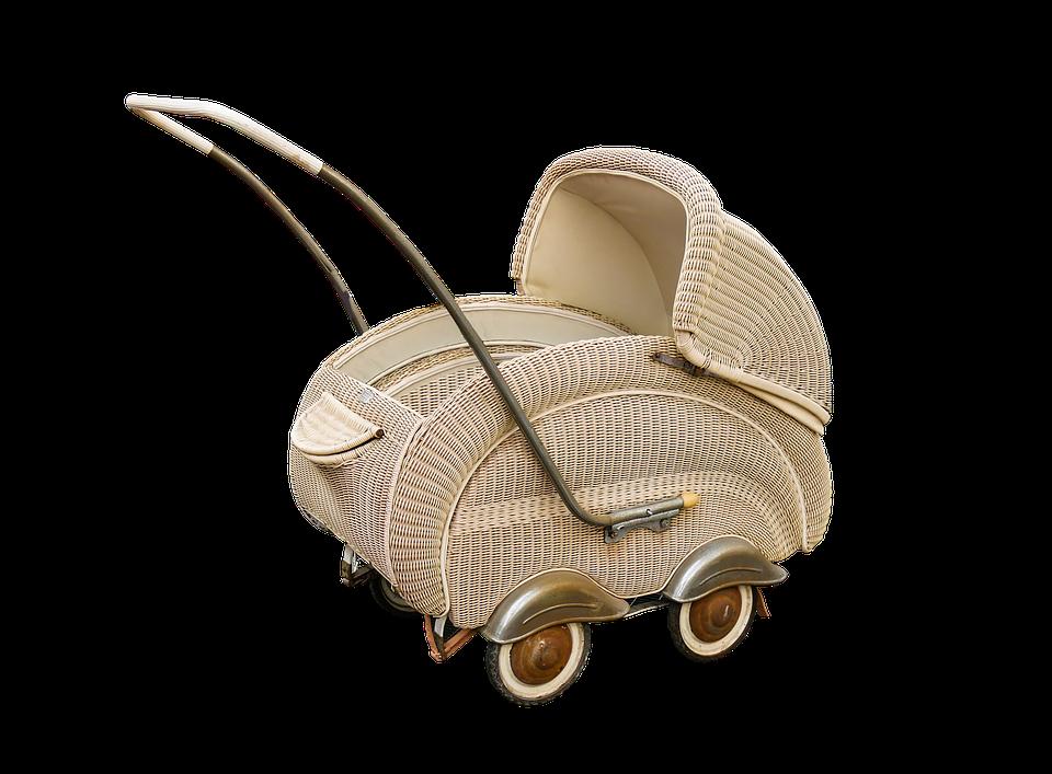 Baby Carriage Nostalgia Isolated 183 Free Image On Pixabay