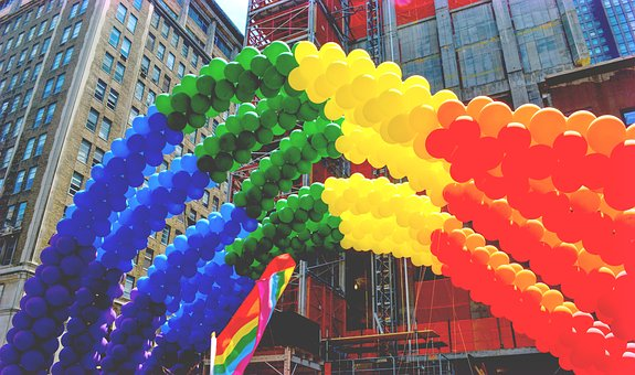 Pride, Gay, Nyc, New York City, Flag