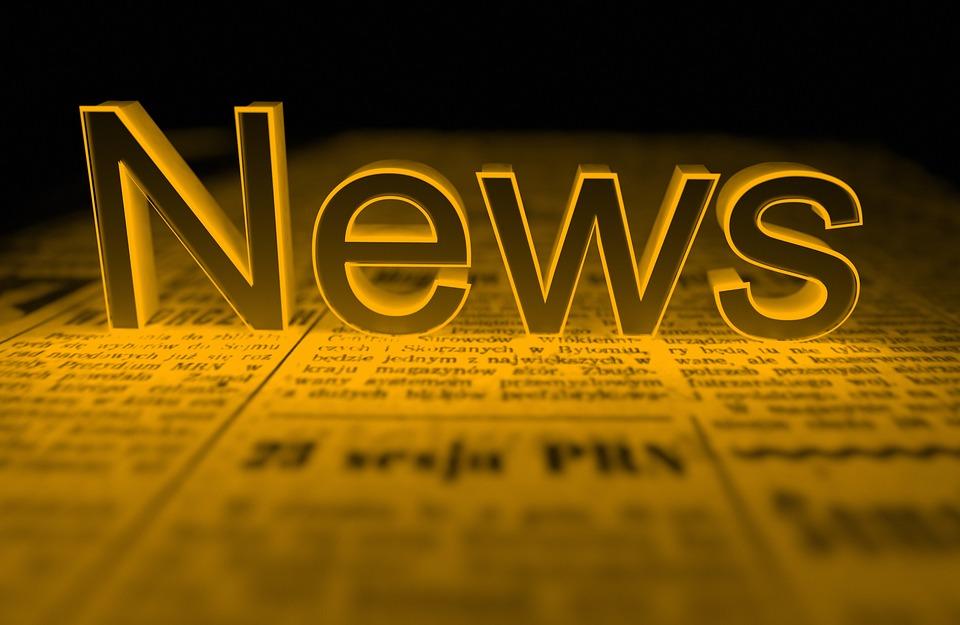 Новини, Жълт, Вестник, 3D, Оказване