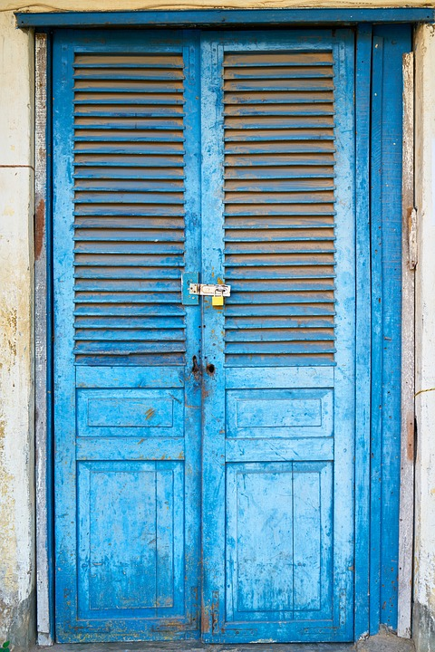 Blue Door Daniel Wood Home Building Structure & Free photo: Blue Door Daniel Wood Home - Free Image on Pixabay ...