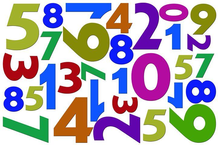 Цифры и числа картинки