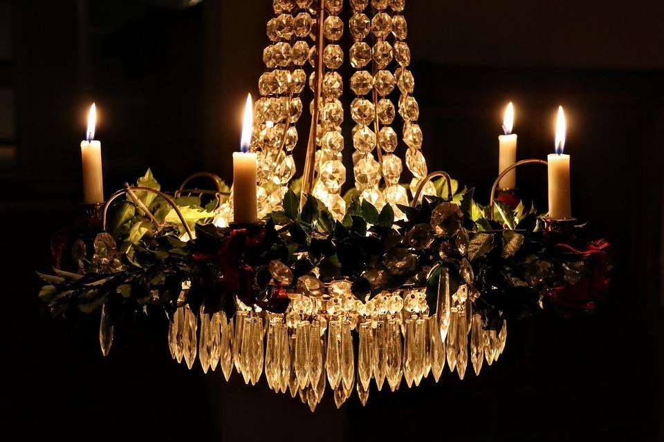 Kronleuchter Für Teelichter ~ Kerzenschein kristall kronleuchter · kostenloses foto auf pixabay