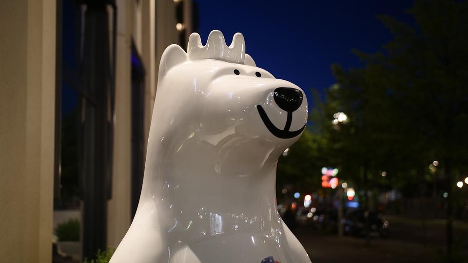 Berliner Bär Berlin Kostenloses Foto Auf Pixabay