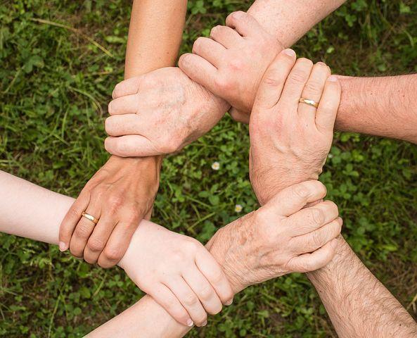 Teamgeist, Zusammenhalt, Gemeinsam