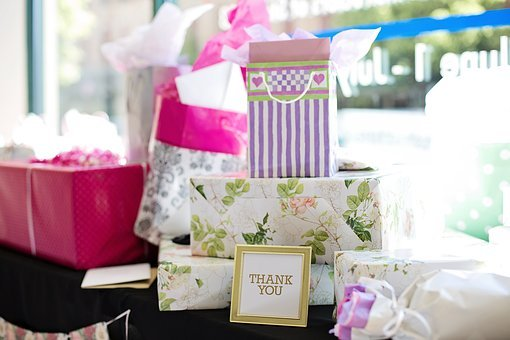 Gifts, Presents, Bridal Shower