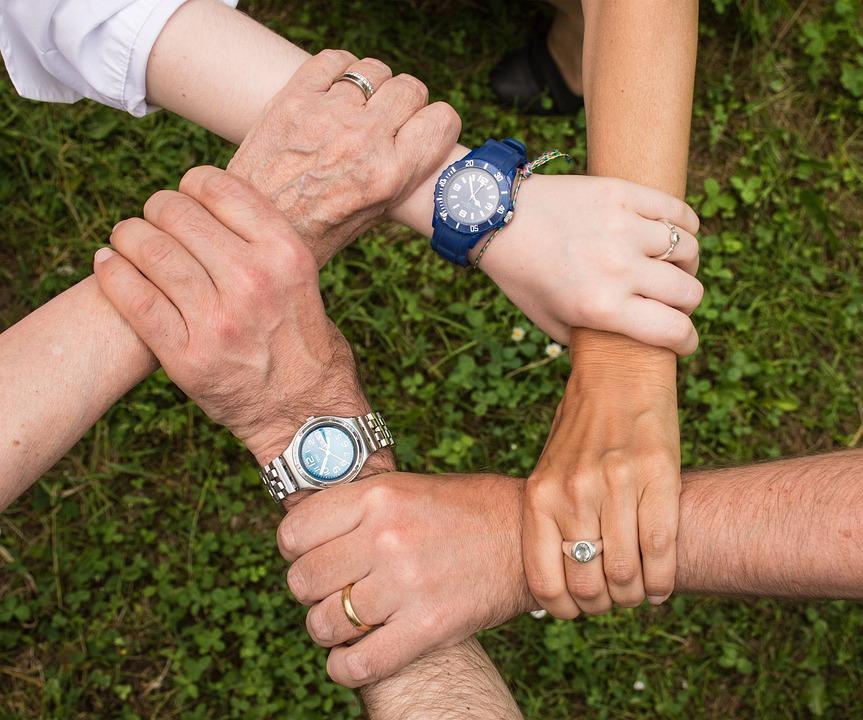 Team Spirit, Cohesion, Teamwork, Together, Generations