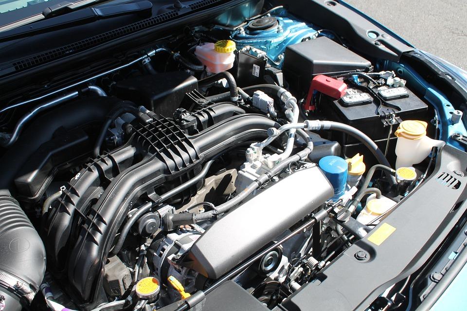 Subaru Boxer Engine >> Engine Subaru Boxer Hood Free Photo On Pixabay