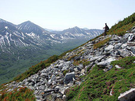 Mountains, Ridge, Climbing, Open Space