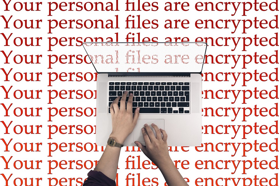 Laptop, Keyboard, Cyber, Attack, Wannacry, Extortion