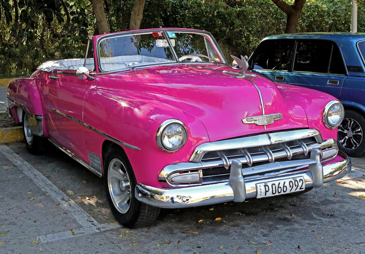 Cuba Antique Car Retro Free Photo On Pixabay