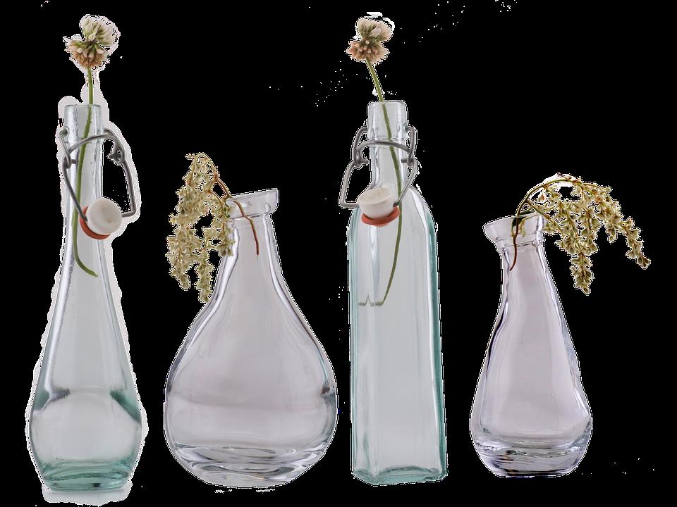 Glass Bottle Vase Close Up Free Photo On Pixabay
