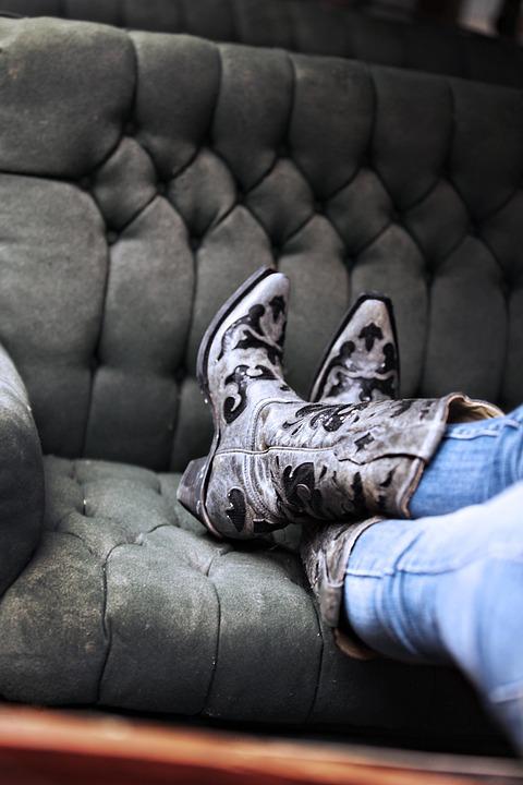Laarzen Lederen Cowgirl Gratis foto op Pixabay