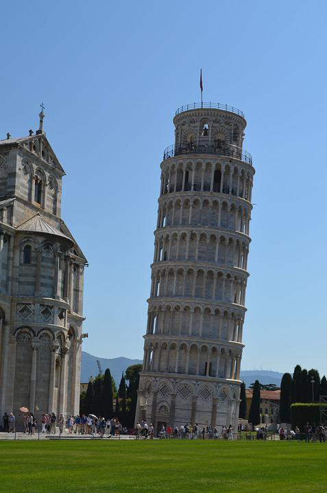 how to say tower of pisa in italian